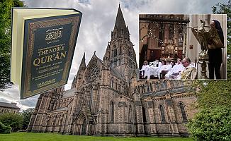 Kilisede Kur'an-ı Kerim'den ayet okunmasına tepki