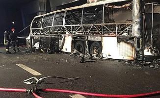 Öğrenci otobüsü kaza yaptı: 16 ölü
