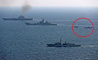 Rus gemileri Kraliyet'in göz hapsinde geçiş