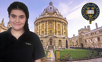 Aleyna, Oxford'da BM Genel Sekreteri'nden ödül alacak