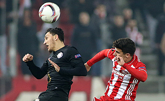 Olympiakos: 0 - Osmanlıspor: 0