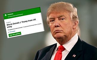 Trump dilekçesine İngiliz hükümeti böyle cevap verdi!