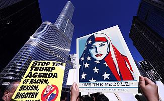 Trump karşıtı gösteriler bitmiyor!