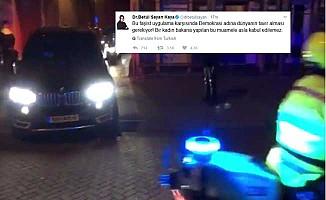 Bakan Kaya, polis zoruyla Hollanda'dan sınırdışı edildi