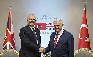 Başbakan Yıldırım, Prens Andrew ile görüştü