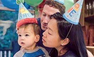 Facebook'un patronu Zuckerberg ikinci kez baba oluyor