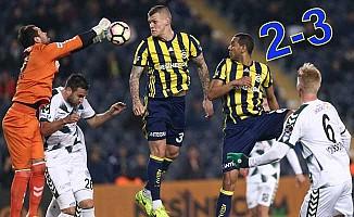 Fenerbahçe, Atiker Konyaspor'u iyi ağırladı