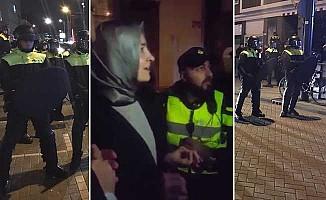 Hollanda polisinden Bakan Kaya'ya çirkin tavır