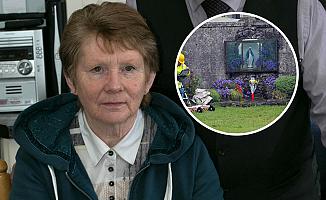 Katolik kadın evinde toplu mezar bulundu