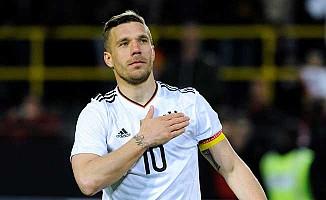 Podolski, Alman Milli Takımı'na veda ediyor