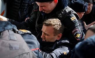 Rus anamuhalefet lideri gözaltına alındı