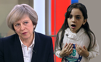 Suriyeli Bana'dan İngiltere Başbakanı May'den ilaç istedi!