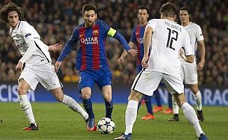 Tarih yazan Barcelona ve Borussia Dortmund çeyrek finalde