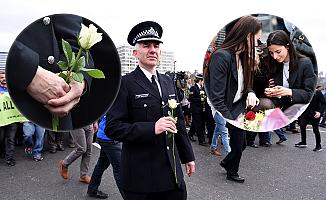 Terör kurbanları farklı dini toplum üyeleri tarafından anıldı