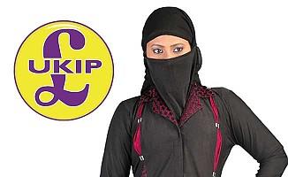 Aşırı sağcı partinin seçim vaadi burka yasağı