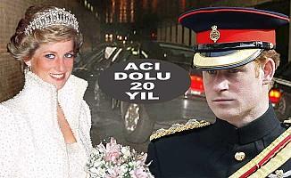 Prens Harry annesiz geçirdiği yılları anlattı