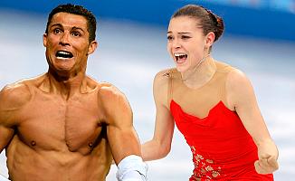 Ünlü buz patenci Sotnikova, Ronaldo'yu istiyor