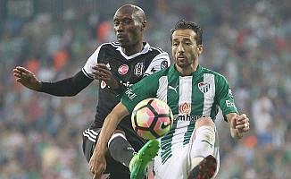 Beşiktaş, Bursa'da rahatladı