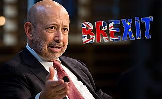 Goldman Sachs CEO'sundan Brexit uyarısı