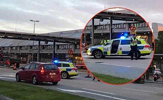 İsveç'te havalimanında alarm!