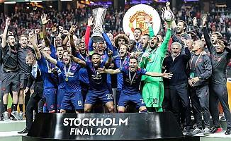 Manchester United'ın, UEFA Avrupa Ligi'nde ilk Şampiyonluğu