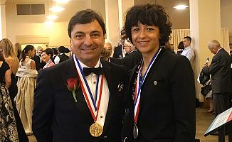 Türk iş adamı Köprülü'ye ABD'den 'Şeref Madalyası'