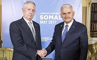 Yıldırım, ABD Savunma Bakanı Mattis ile görüştü