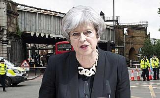 Başbakan May, terör saldırıları için konuştu!