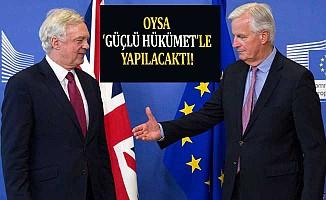 Brexit müzakereleri hükümetsiz başladı