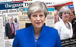 İngiliz basını Başbakan May'i hedef aldı