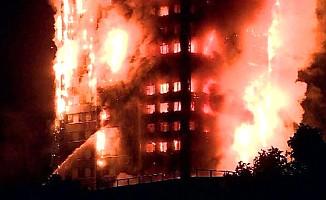 Londra'da yanan binada Türk aileler de var
