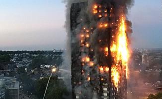 Londra'da korkunç yangın!