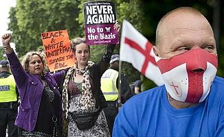 İslam ile faşizm karşıtları Londra'da karşı karşıya geldi