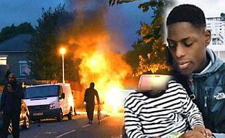 Londra'da Polise Siyahi Başkaldırı
