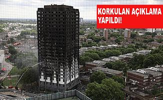 Londra'daki büyük yangında kaç kişi öldü?