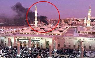 Mescid-i Haram'a saldırı önlendi, canlı bomba kendini patlattı
