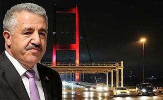 """'Şehitler Köprüsü'nde """"serbest geçiş"""" dönemi"""