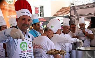 Avrupa'da yaşayan Türk vatandaşlarına tava ciğerli karşılama