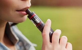 Elektronik sigara ağızda yara yapıyor