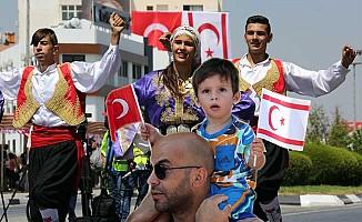 Kıbrıs Barış Harekatı'nın 43. yıl dönümü törenlerle ktlanıyor