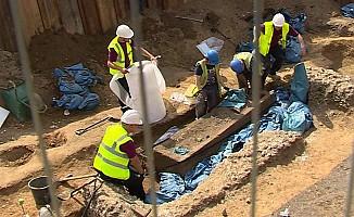 Londra'da Roma dönemine ait mezar bulundu