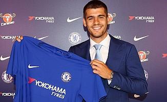 Morata resmen Chelsea'de