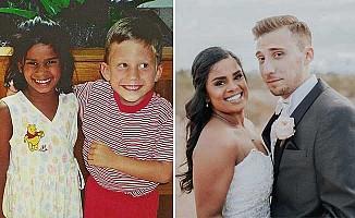 Üç yaşında söz verdi, 20 yaşında evlenme teklif etti!