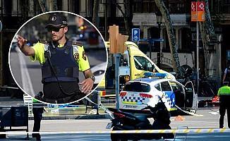 Barcelona'da araçla terör saldırısı