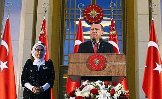 Erdoğan'dan bölgedeki gelişmelerle ilgili kararlılık mesajı