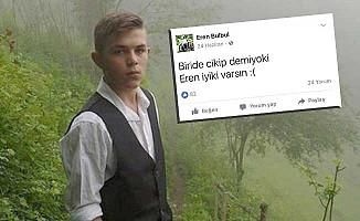 Eren'in o paylaşımı sosyal medyada gündem oldu
