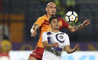 Galatasaray, Osmanlıspor'a sahasında fırsat vermedi