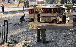 İzmir'de patlama! Yaralılar var