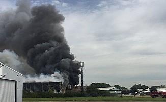 Londra'da havalimanı yakınında patlama oldu!