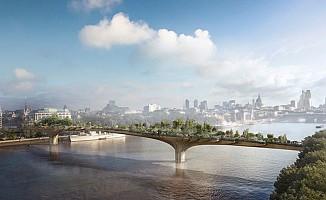 """Londra'nın 200 milyon sterlinlik """"bahçe köprü"""" projesi iptal edildi"""